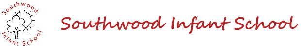 Southwood Infant School Logo showing the school name, a tree and the sun